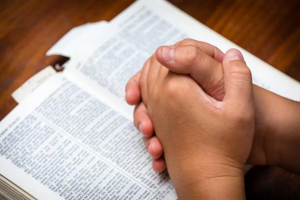 Prayer Hands stock photo