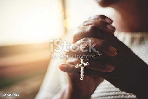 istock Prayer is the pillar of strength 957653796