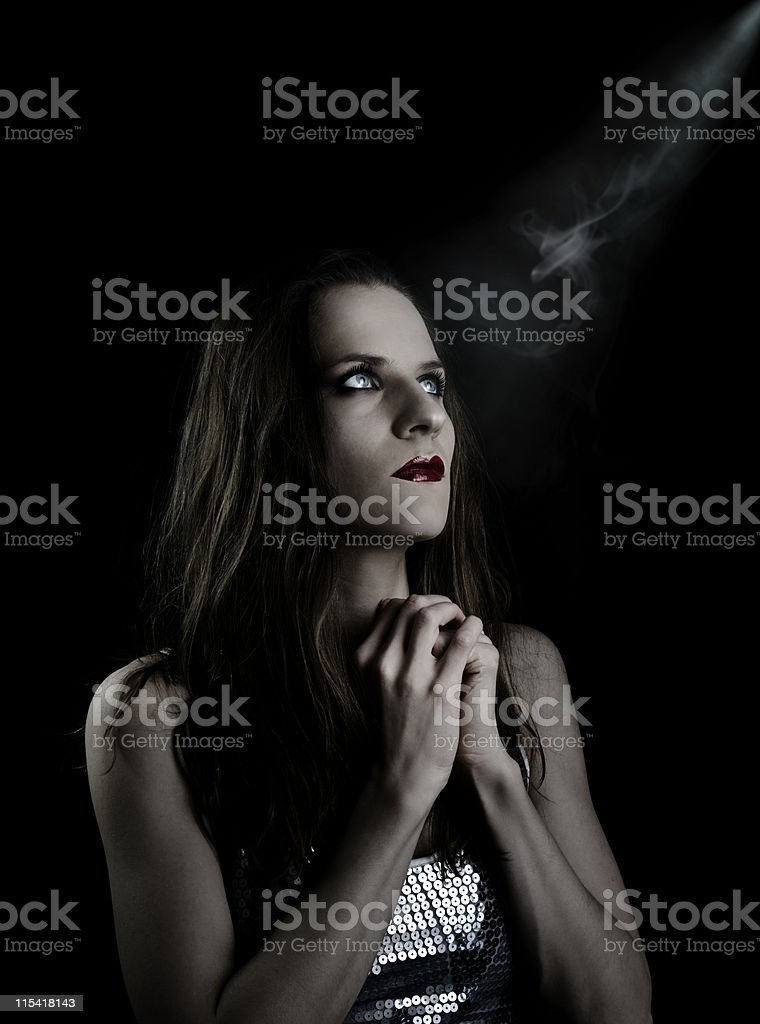 prayer royalty-free stock photo