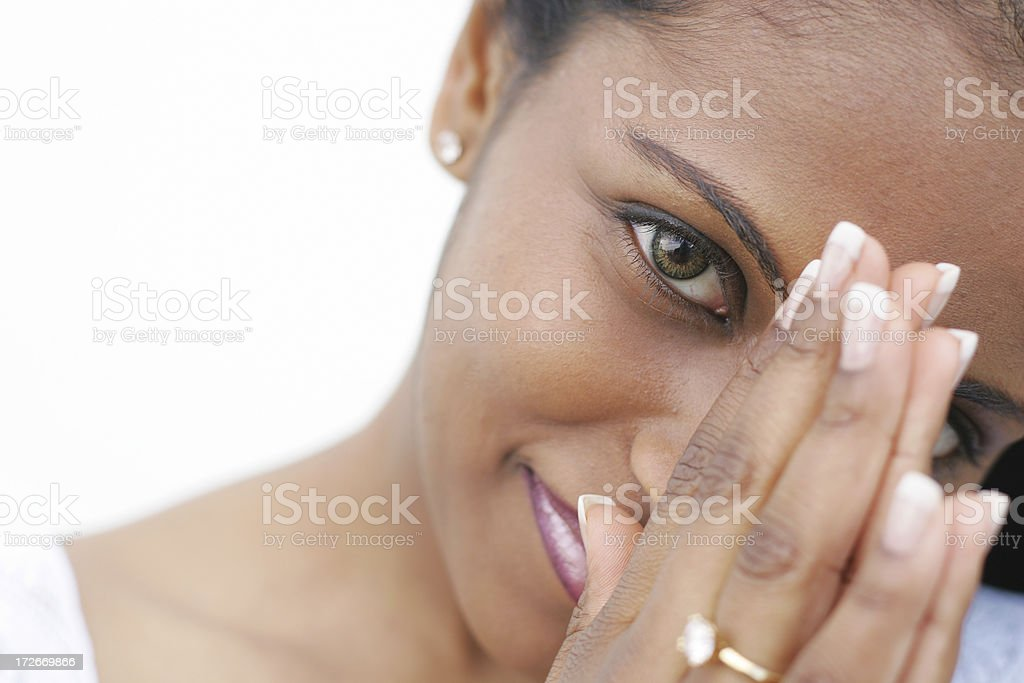 Prayer Young woman Adult Stock Photo