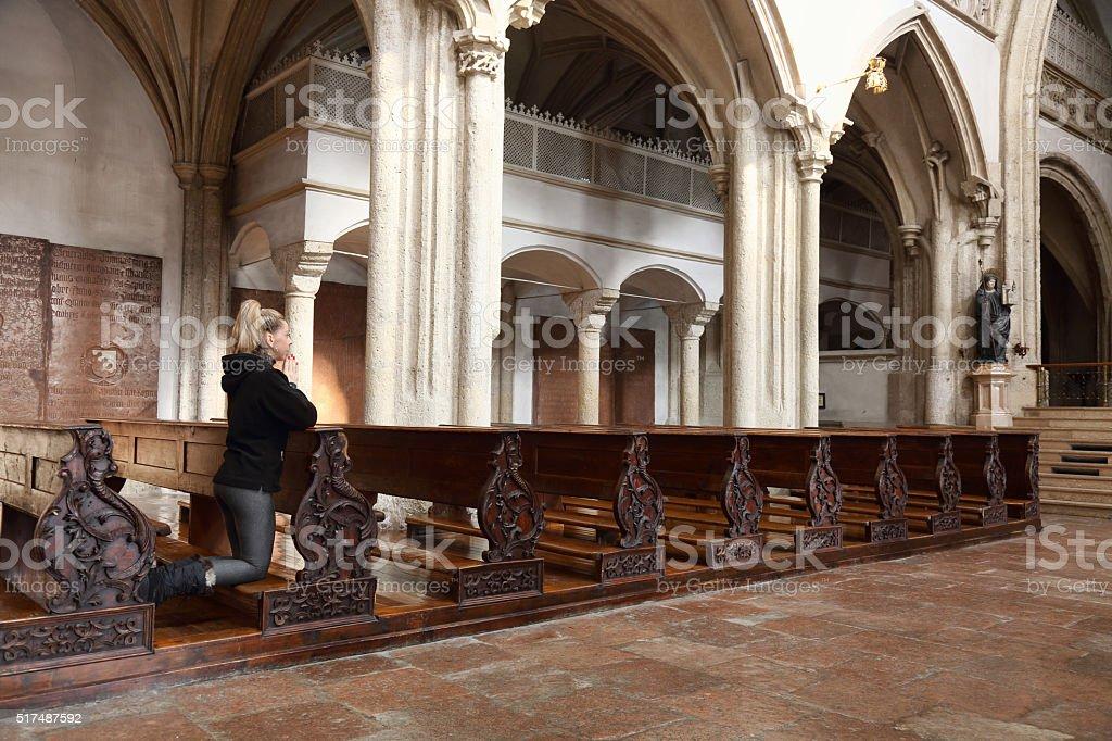 Oração - foto de acervo