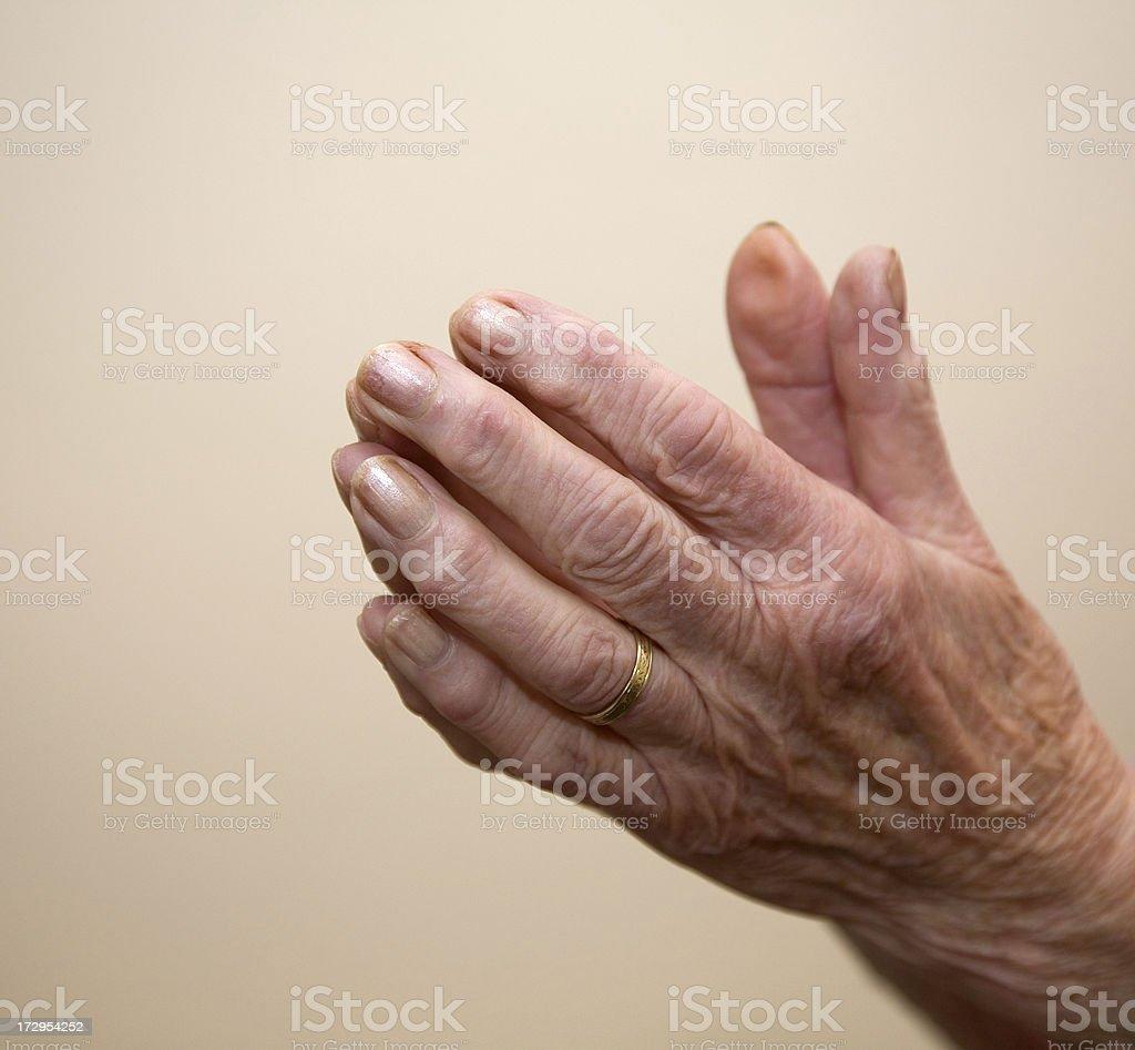 Prayer Time royalty-free stock photo