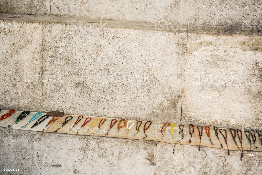 Praying beads of color foto de stock royalty-free