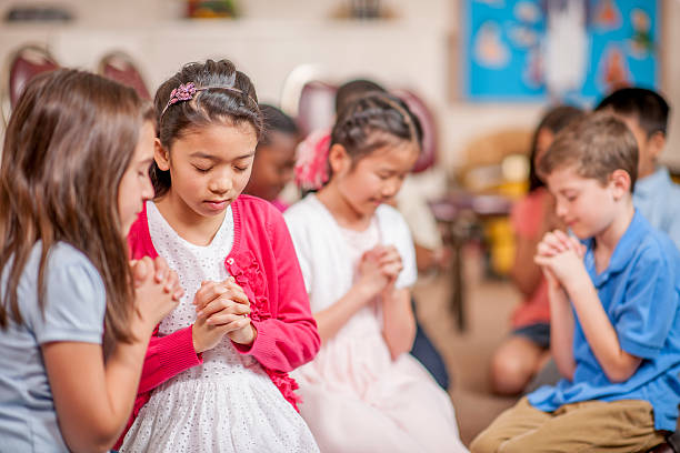 """prayer in schools Even though public schools today are without school prayer, most schools have replaced prayer, with a """"silent moment of reflection"""" also, the assumption if there is a god or not is a big question as well i think prayer should be re-instated into schools, because children should be able to express religion freely."""