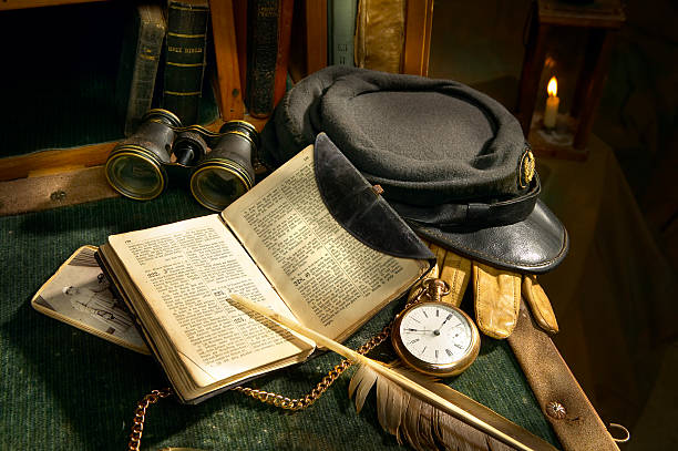 Praying Soldier Still life of various civil war era military items and bibles. civil war stock pictures, royalty-free photos & images