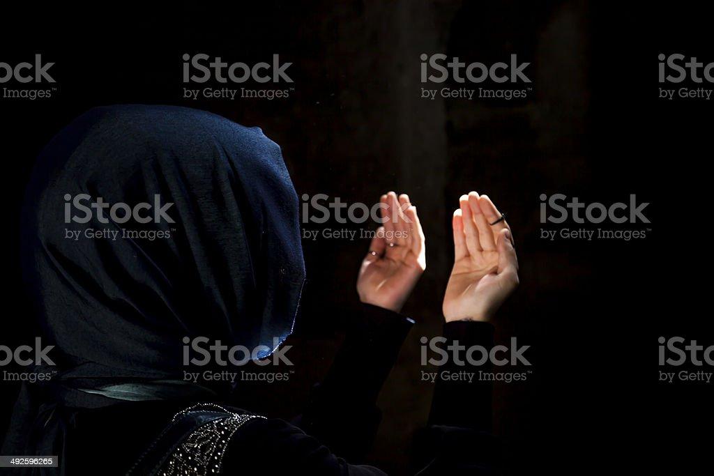 Beten Frau – Foto