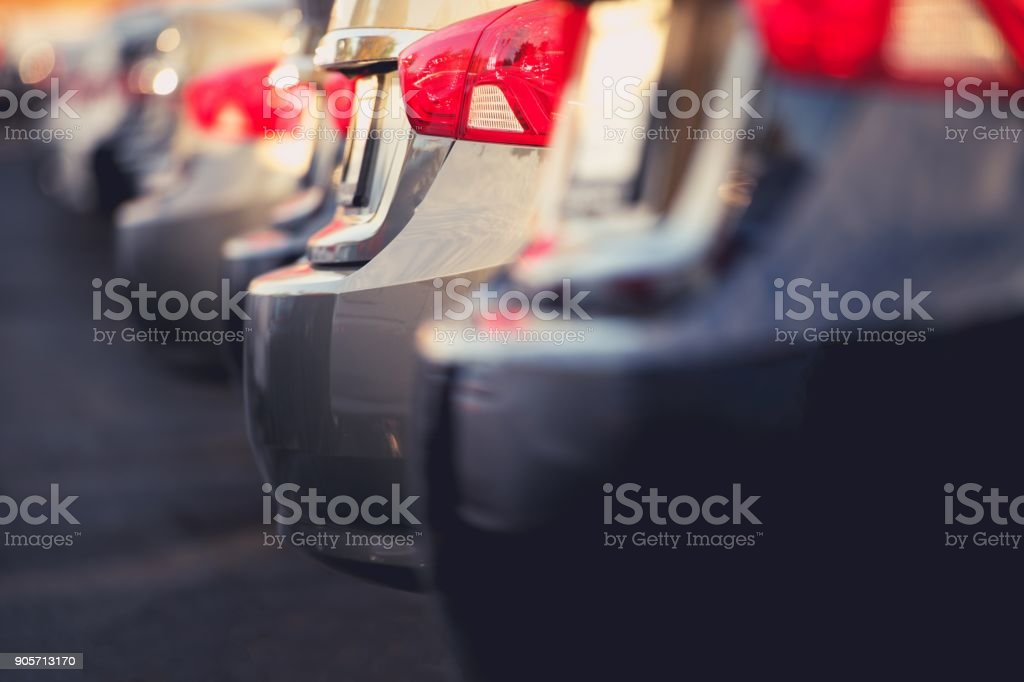 Pre Owned Cars For Sale stock photo