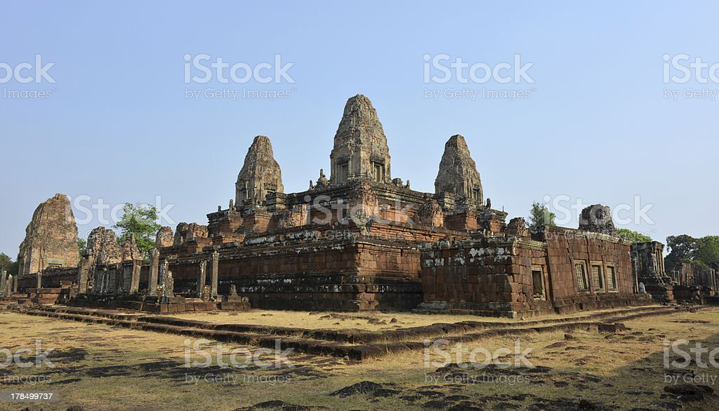 Pre Rup temple of Angkor, Cambodia royalty-free stock photo