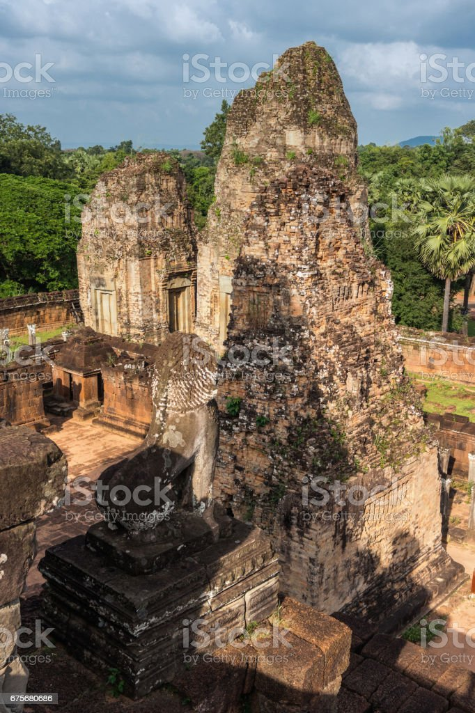 Pre Rup temple, Siem Reap, Cambodia royalty-free stock photo