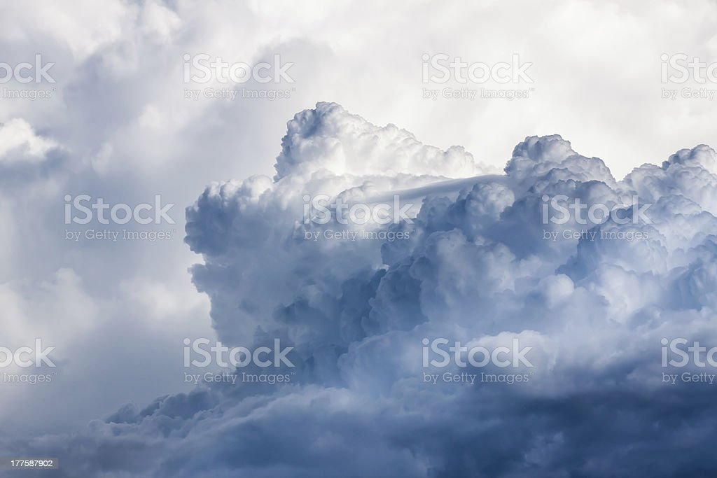 Pre storm clouds royalty-free stock photo