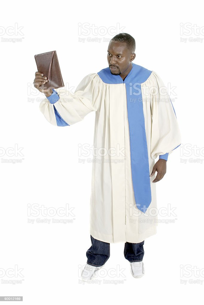Preacher Man royalty-free stock photo