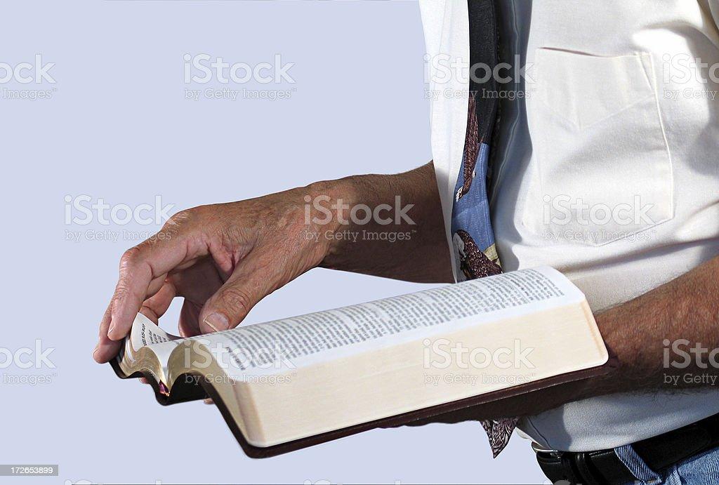 Preacher (KJV) royalty-free stock photo