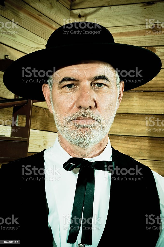 Preacher Portrait stock photo
