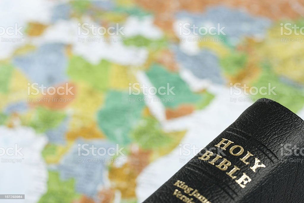 Preaching the Gospel royalty-free stock photo