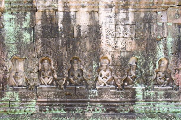 Preah Khan in Siem Reap stock photo