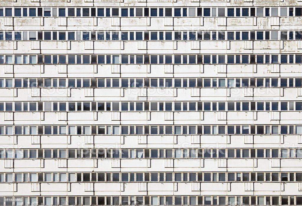 Precast apartment building stock photo
