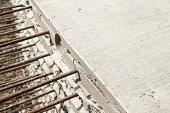 Precast Concrete Construction Panels Stacked