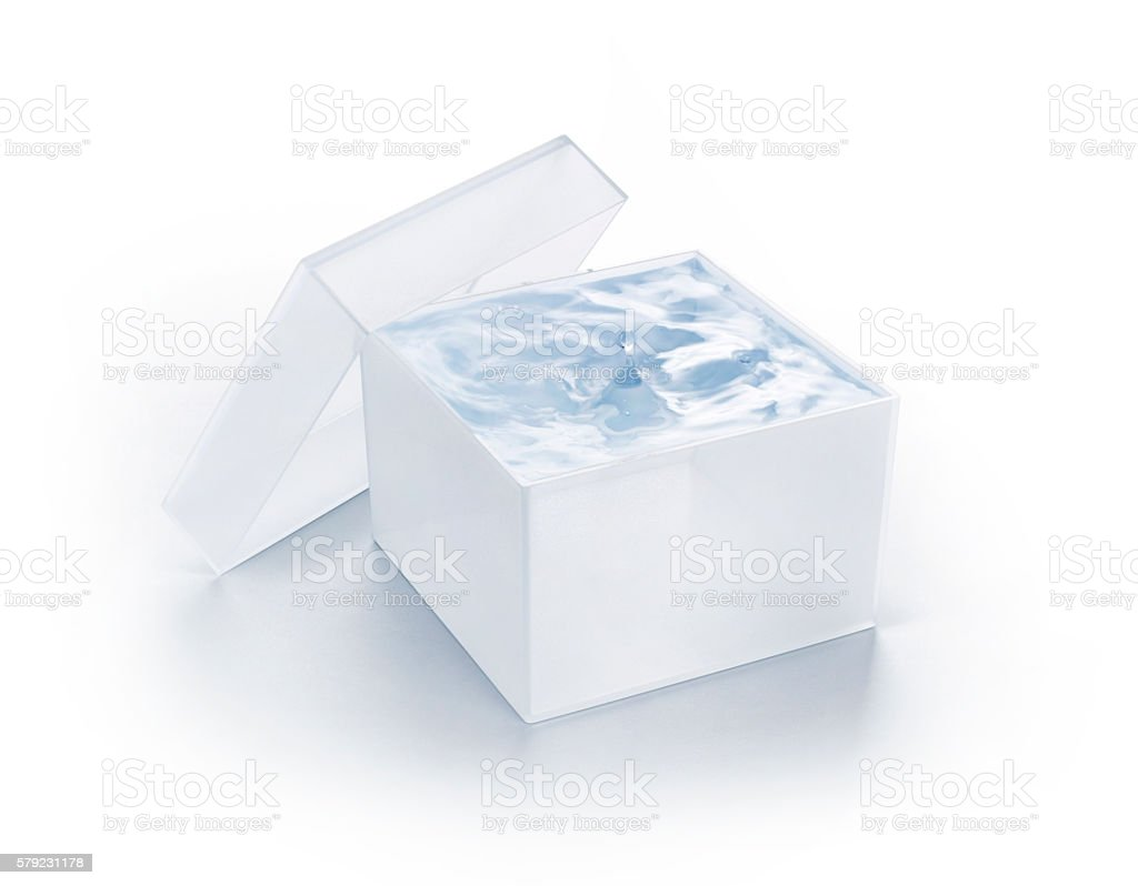 Precious Clean Water stock photo