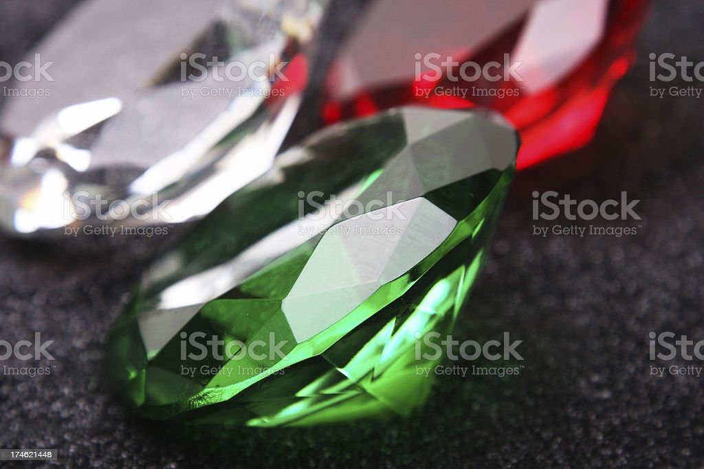 Precious Gems stock photo