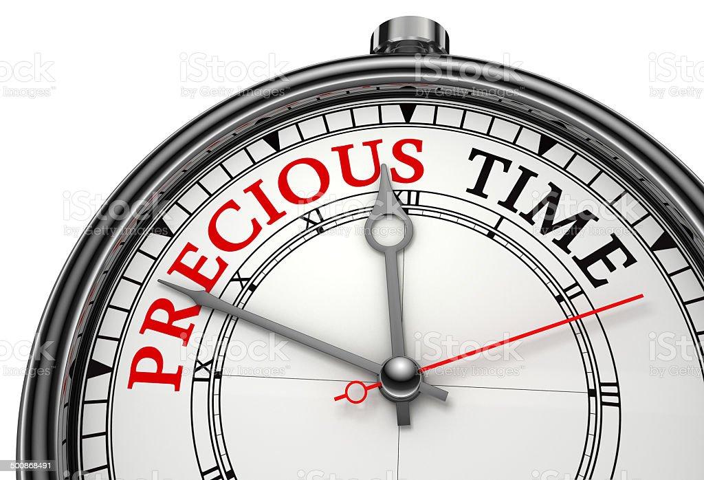 precious time concept clock stock photo
