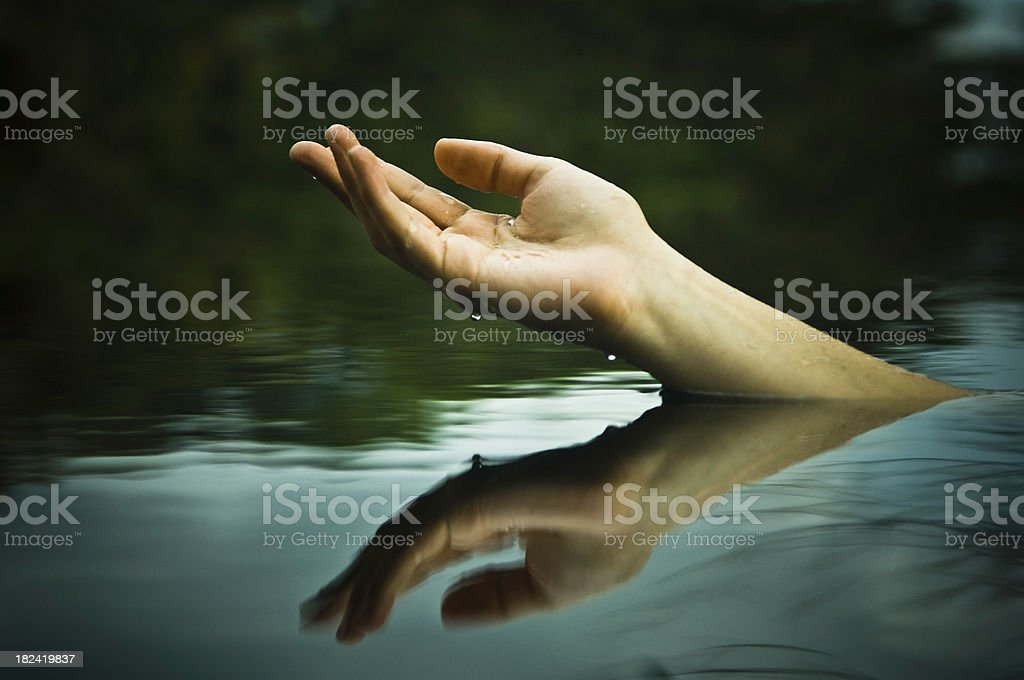 Precious Water royalty-free stock photo