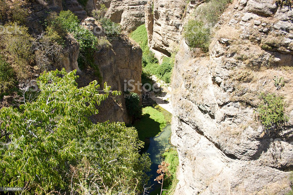 Precipice のロンダ 4 ロイヤリティフリーストックフォト