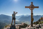 Predigstuhl Summit Cross, Hallstättersee, Dachstein, Austrian Alps