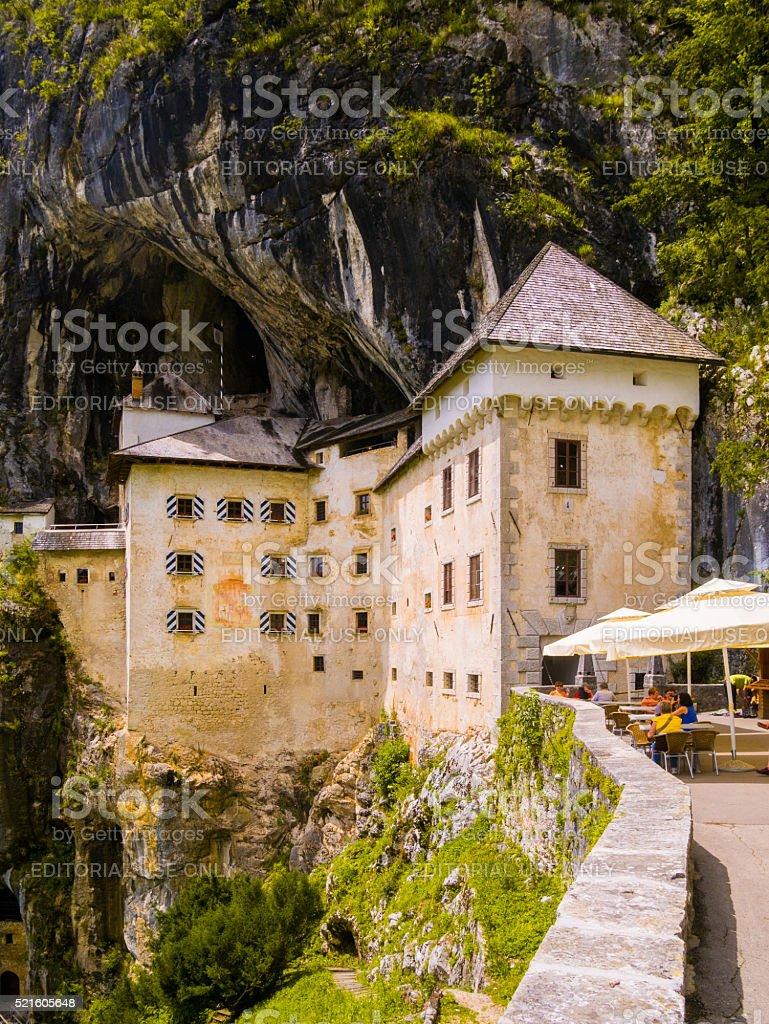 Predjama Castle in Ljubljana stock photo