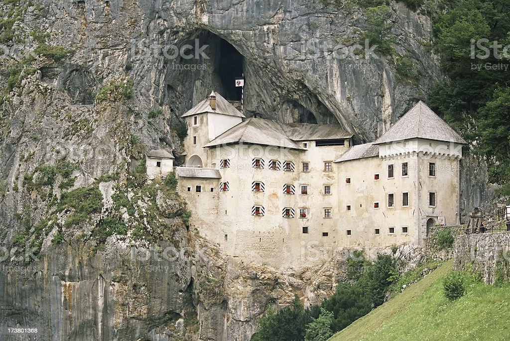 Predjama Castle royalty-free stock photo