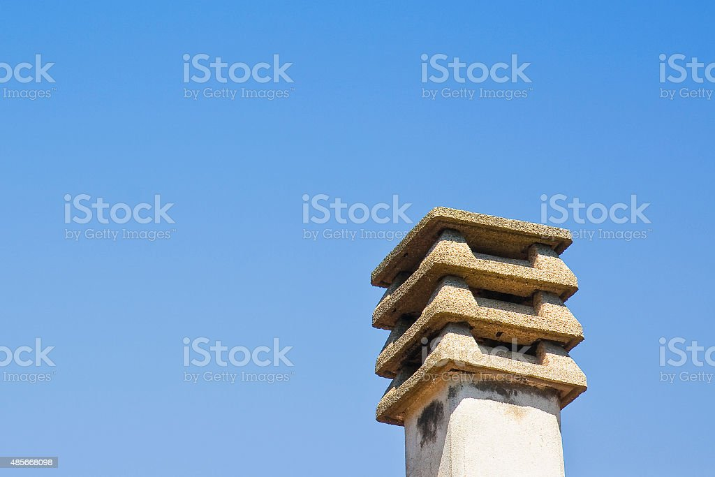 Prefabricated Concrete Chimney Stock Photo Download Image Now Istock