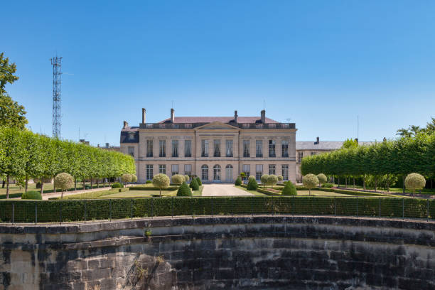 Prefecture of the Marne in Châlons-en-Champagne stock photo