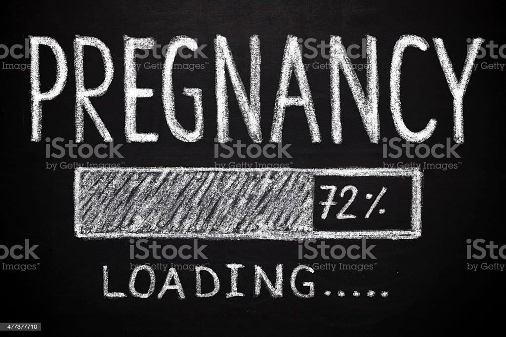 Pregnancy - loading stock photo