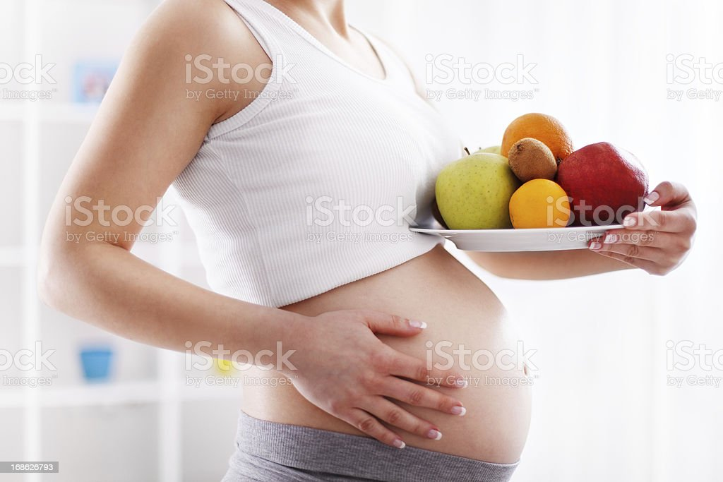 Pregnancy royalty-free stock photo