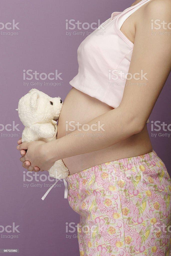 임신 royalty-free 스톡 사진
