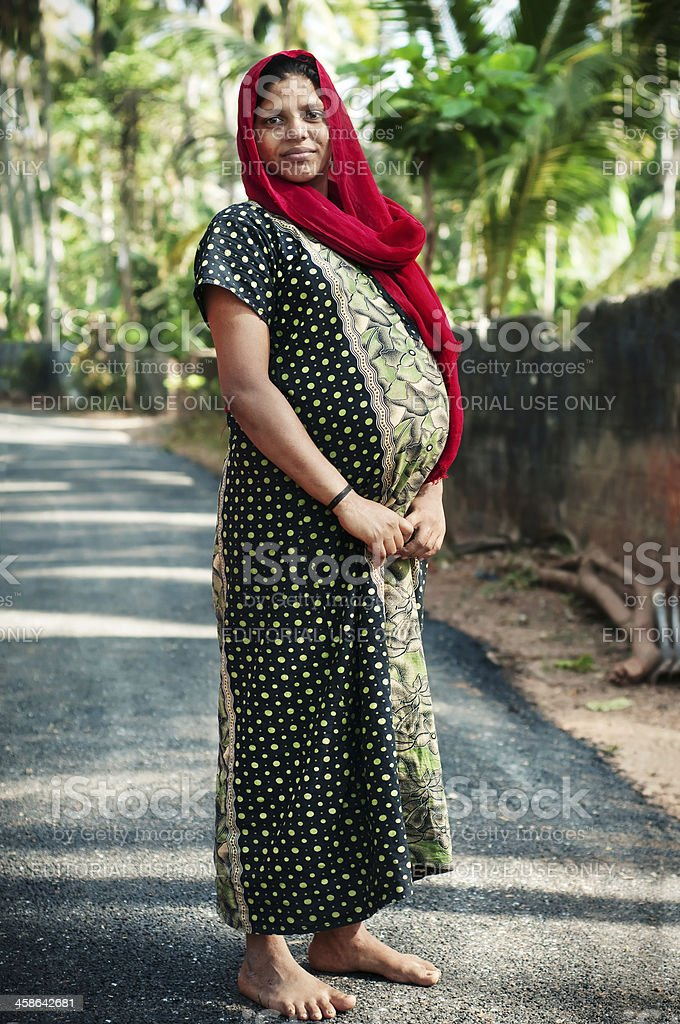 Pregnant Indian Woman Stock Photo - Download Image Now - Istock-7217