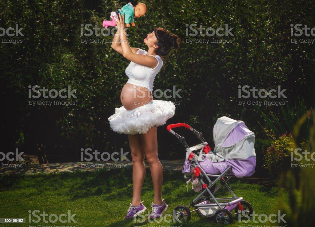 Femme enceinte - Photo