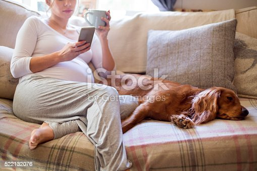 istock Pregnant Woman Relaxing 522132076
