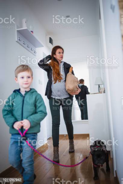 Pregnant women with son getting home from shopping picture id1011297942?b=1&k=6&m=1011297942&s=612x612&h=lbwlzew8szavuwyot98qy3jud9377plkda5qotxlp1a=