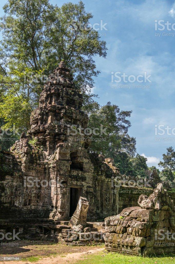 Preh Khan temple, Siem Reap, Cambodia foto de stock royalty-free