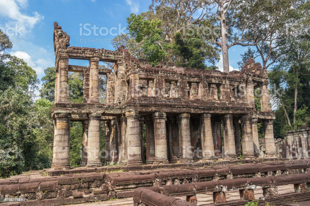 Preh Khan temple, Siem Reap, Cambodia royalty-free stock photo