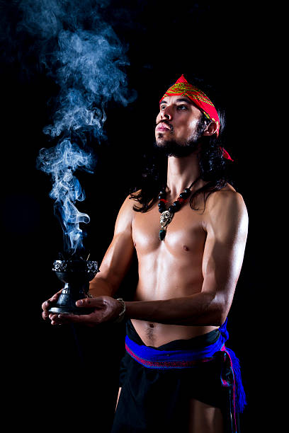 prehispani, mexiko - pilze bestimmen stock-fotos und bilder