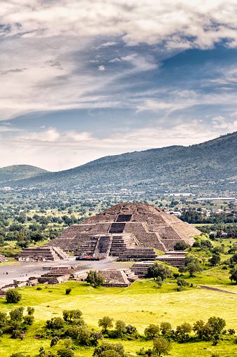 Pre-Hispanic City of Teotihuacan. Mexico