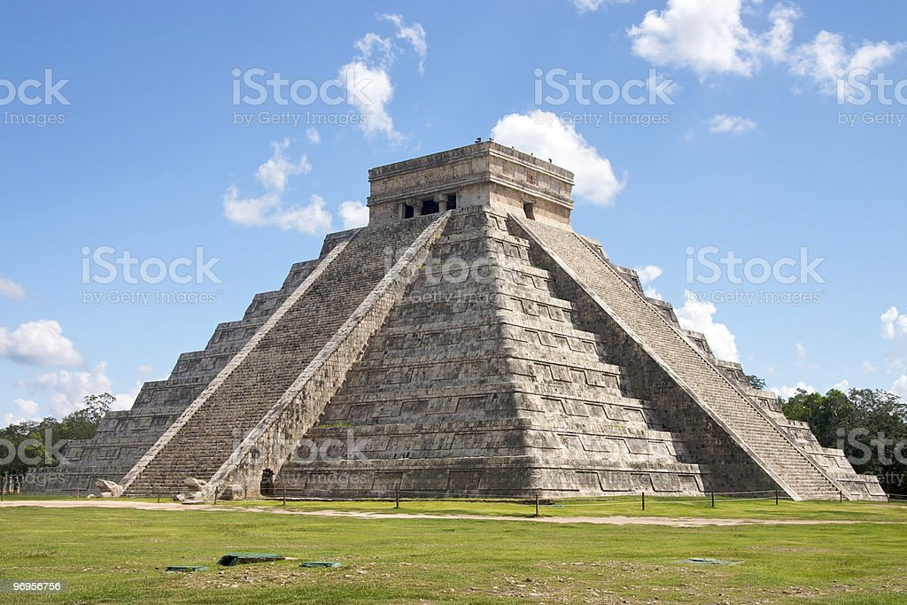 The Temple of Kukulkan usually referred to as El Castillo . This step...