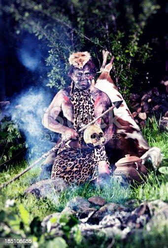 841481956istockphoto Prehistoric Man 185108685