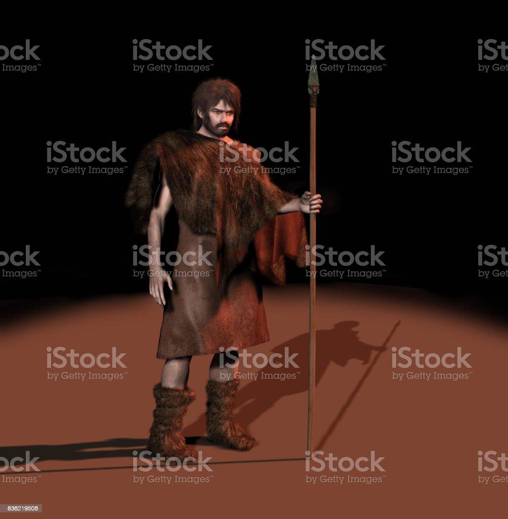 Prähistorischer Mensch – Foto