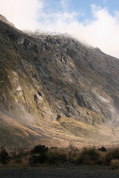 Prehistoric Mountain stock photo