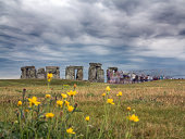 The stones at Stonehenge