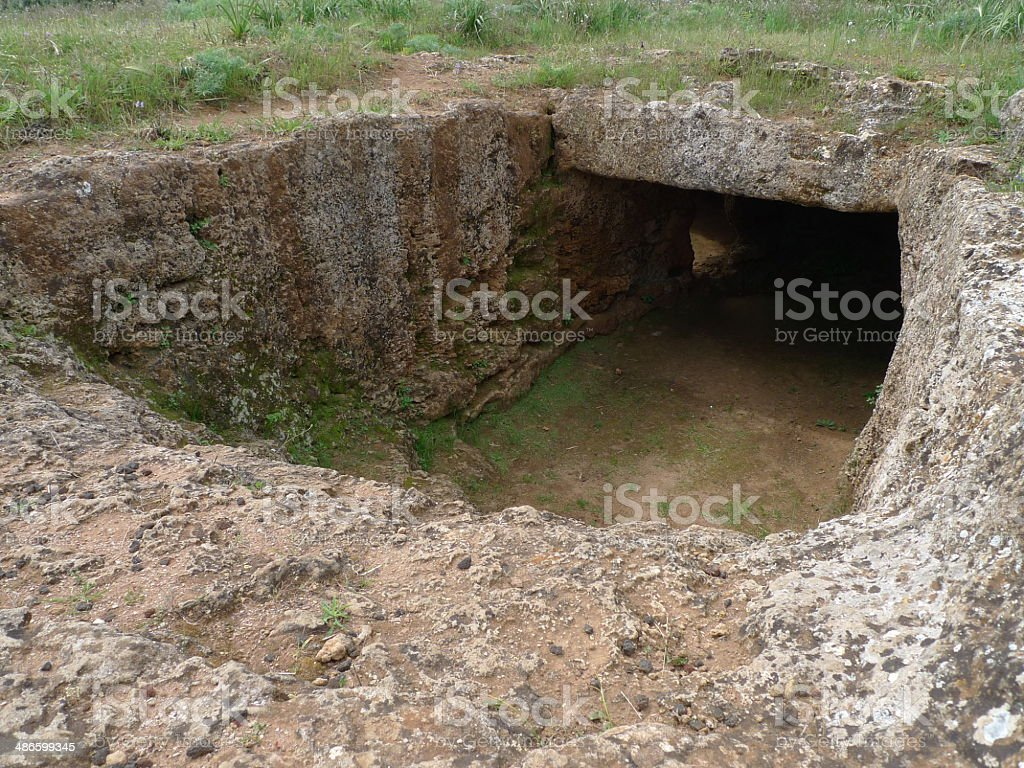 Preistorico-grave - foto stock