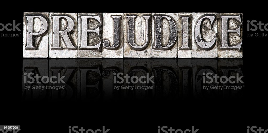 Prejudice royalty-free stock photo