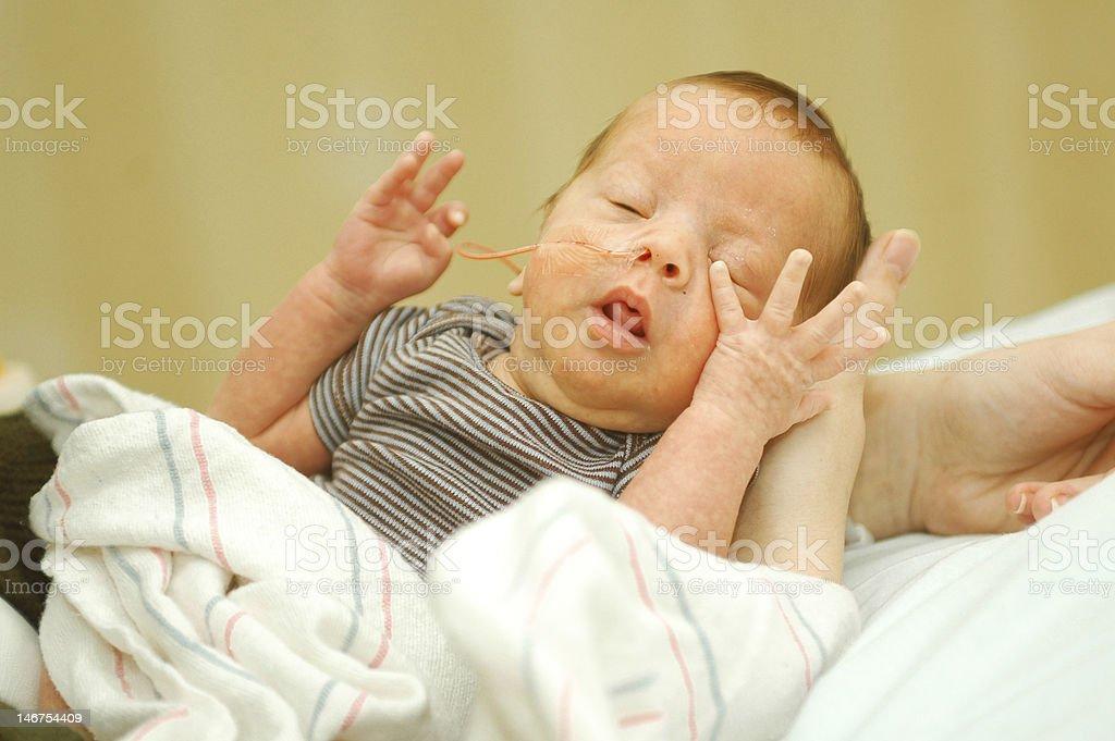 Frühgeburt baby boy in NICU – Foto